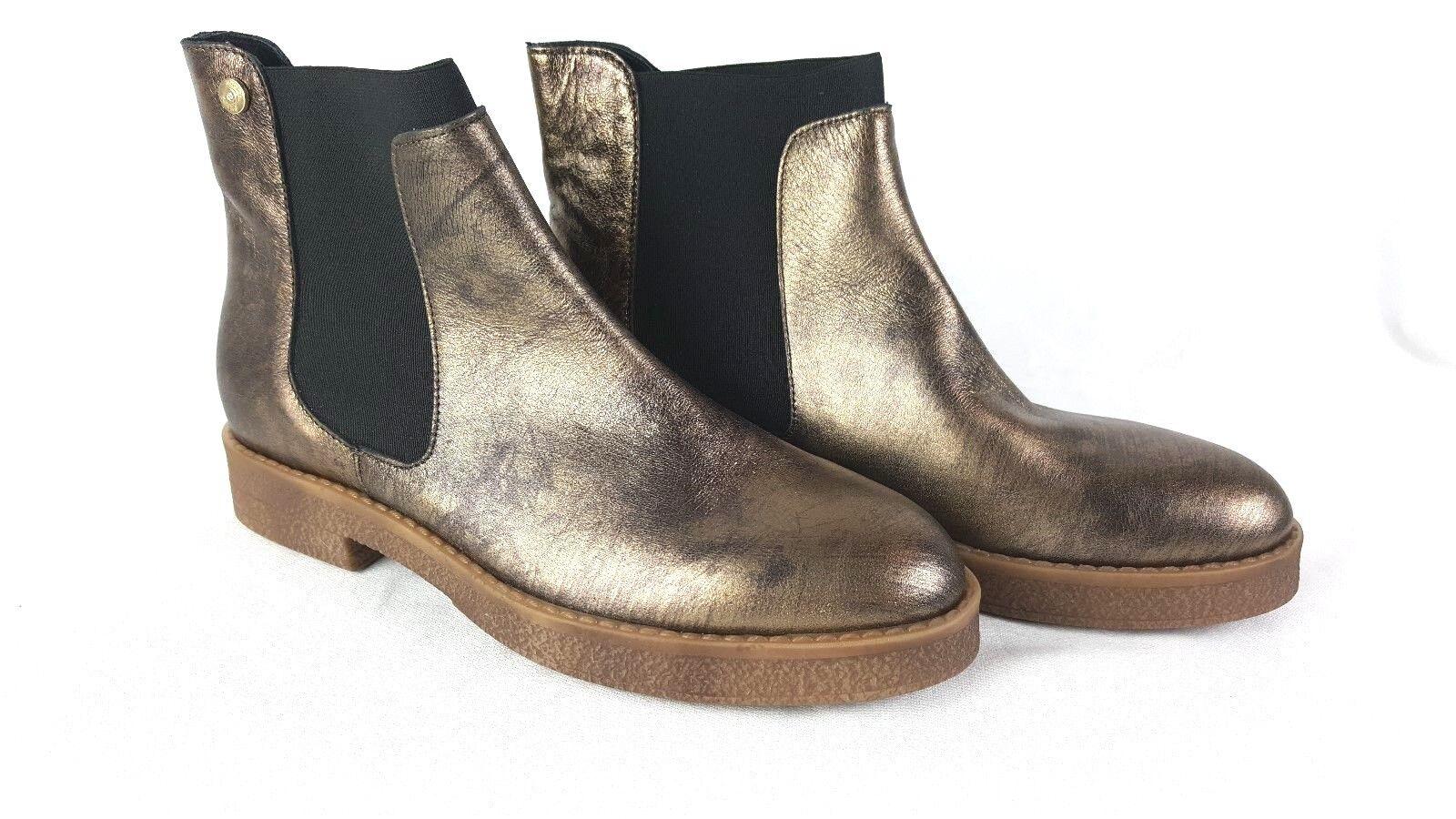 ad0d29d8458a ... NEUF LIU LIU LIU JO Jeans Bottes Femmes & Bottines or taille 39 // 05  ...