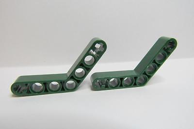 Technic LEGO Parts~ Thick 32271 LT BLUISH GRAY Liftarm 1 x 9 Bent 7-3 2