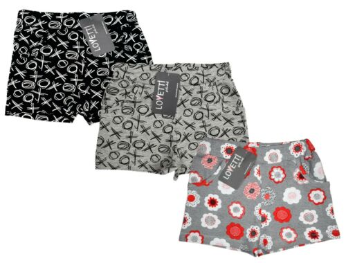Baby Mädchen Shorts kurze Hose 3er Pack Sporthose Panty Mädchenshorts Baumwolle