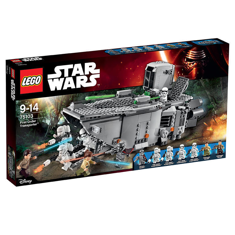 LEGO StarWars First Order Transporter (75103) Neu - OVP- OVP- OVP- Ungeöffnet ee1b0d