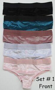 5 31 Secret Samtrippen Pink Victoria's Multicolor Höschen Cheekster qvwnS