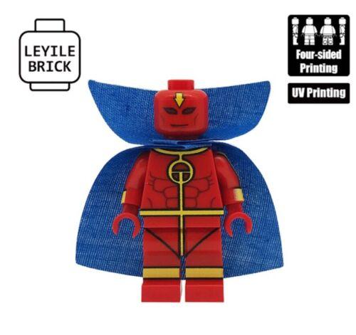 **NEW**LYL BRICK Custom Red Tornado Lego Minifigure