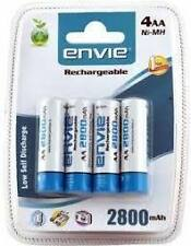 Envie 2800mAh AA (4nos) Ni-MH Rechargeable Battery for DIGITAL CAMERA
