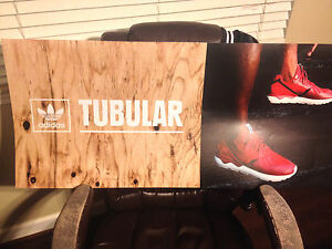check out cee63 1f1c0 Details about Footlocker Light Box Display Poster (ADIDAS TUBULAR)