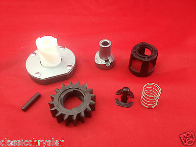 STARTER DRIVE KIT for BRIGGS CRAFTSMAN MTD MURRAY 495878 696540 16 TOOTH GEAR