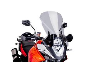 PUIG TOURING SCREEN FOR KTM 1050 ADVENTURE 15-16 LIGHT SMOKE