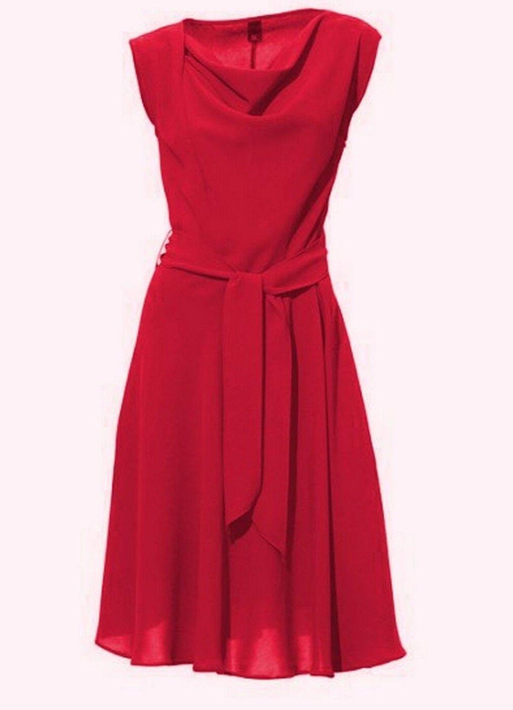 82b5e215a5bd0 Cocktailkleid Kleid Best Best Best Connections Heine koralle rot 34 36 38 40  42 44 NEU e0dee1
