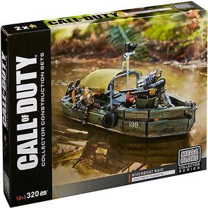Mega-Bloks-Call-of-Duty-DPB56-Riverboat-Raid-Collector-Construction-Set