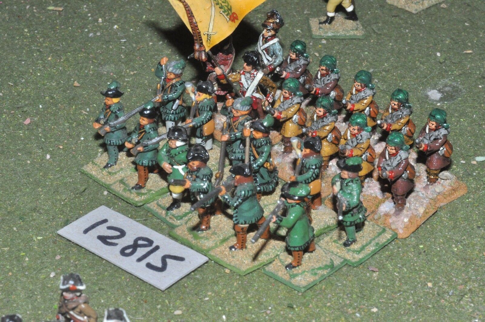 25mm AWI   american - infantry 24 figs - inf (12815)