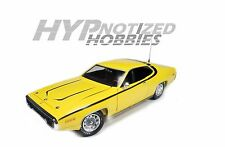 AUTOWORLD 1:18 PLYMOUTH 1971 DUKES OF HAZARD DAISYS SATELLITE DIECAST AWSS105