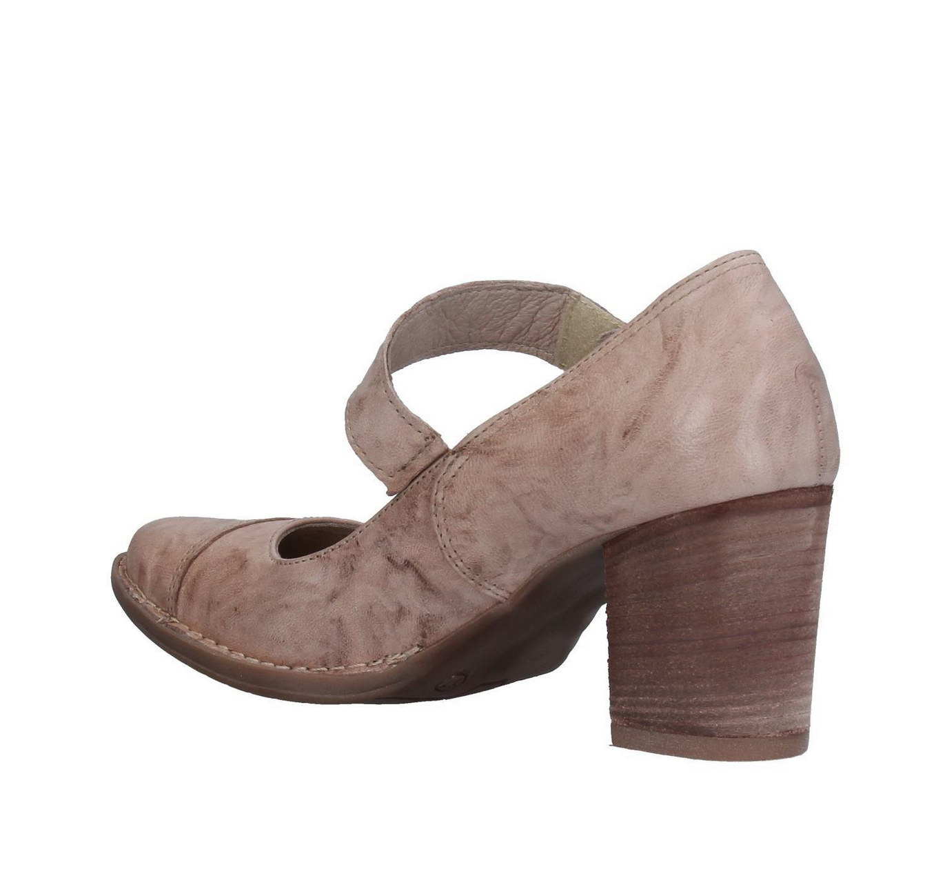 KHRIO COURTS COURTS COURTS PUMPS schuhe Größe 39 EU 8.5 US LEATHER SAND NIOB  114 1556a6
