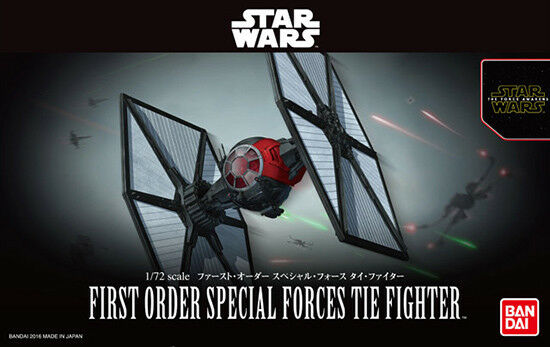 Japan Bandai Star Wars Fast Order Special Force Thai Fighter 1 72 Plastic Model