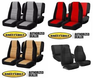 Image Is Loading 97 02 Jeep Wrangler Smittybilt Complete Front Rear