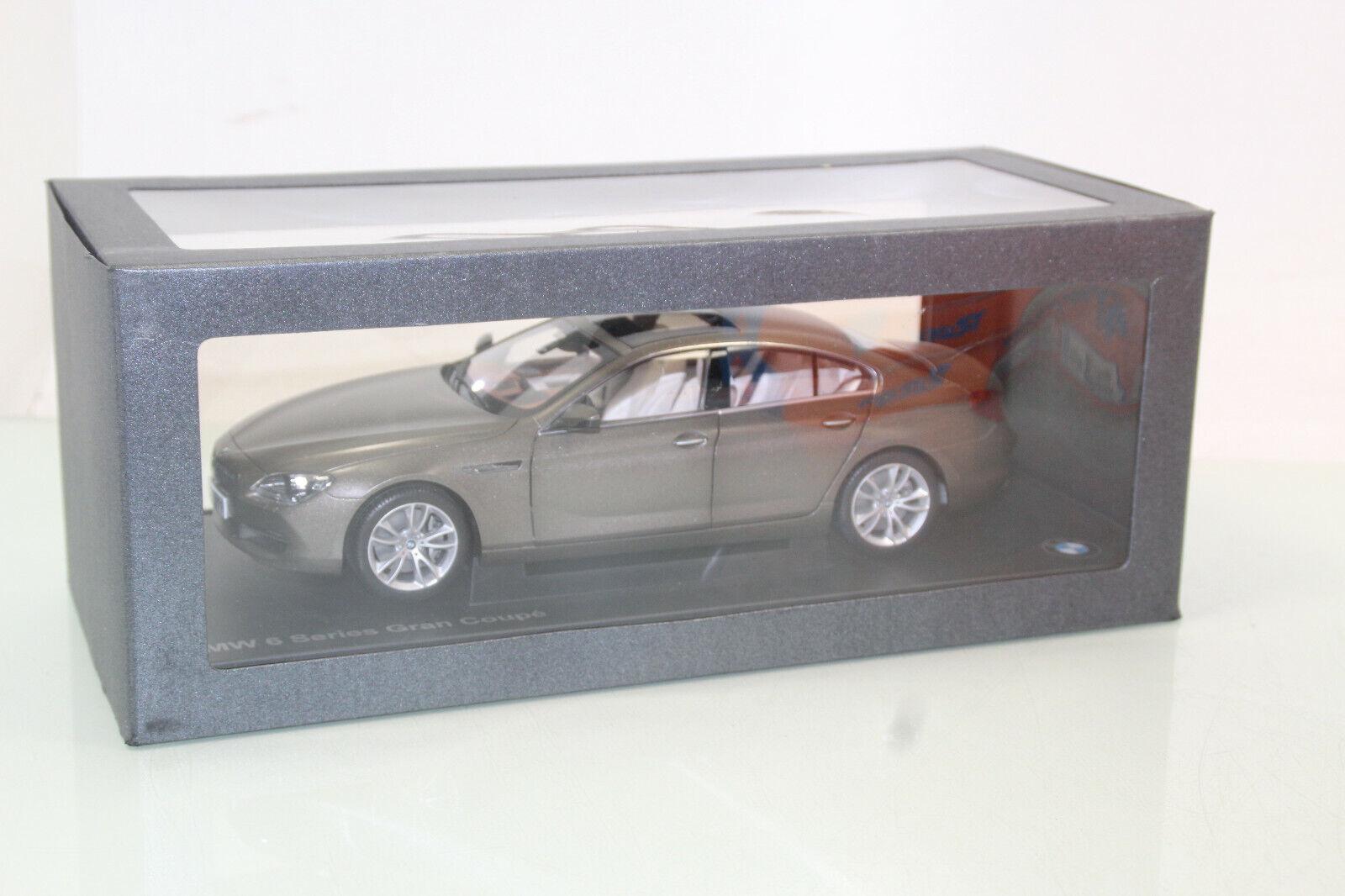BMW Shop 1 18 80432218742 BMW 6 Series Gran Coupé bronze neuf dans sa boîte neuf (js5363)