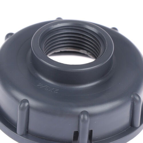 "IBC Tank fittings S60X6 Coarse Threaded Cap to 1//2/"" 3//4/"" 1/"" Adaptor Connector B1"
