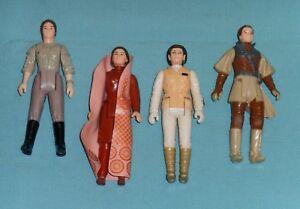 Lot de 114 figurines Leia Bespin Hoth Boushh Combat Vintage