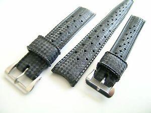Original-TROPIC-Kautschuk-Brac-14-oder-16mm-schwarz-ac-oder-plaque