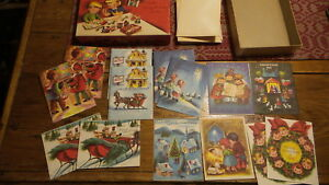 Religious Christmas Cards For Kids.Details About Vintage Unused Religious Christmas Cards For Children 14 Cards