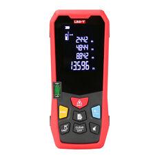 Laser Distance Meter Range Finder Area Volume Test 40m 131ft Spirit Level Lm40
