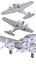 thumbnail 3 - Roden 341 - 1/144 - Heinkel He111 H-6 (Scale plastic model kit) UK