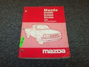 1995 Mazda B4000 B3000 B2000 Pickup Truck Electrical ...