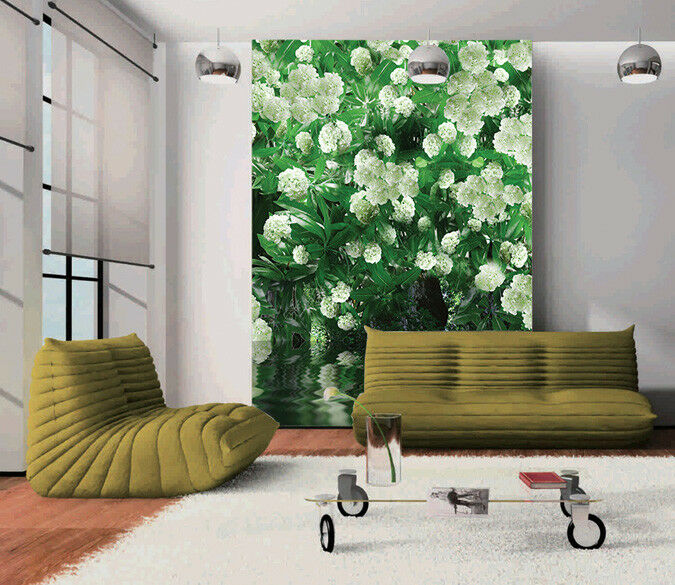 3D 3D 3D Weiße Blaumen Meer 86 Tapete Wandgemälde Tapete Tapeten Bild Familie DE Summer | Fuxin  |  509338