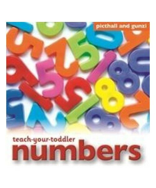 """Chez Picthall """"Teach-Your-Toddler Numbers"""""""
