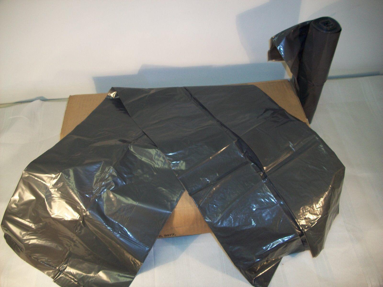 1 ROLL 25 EA BAGS RUBBERMAID 5007-88 HEAVY DUTY POLYLINER TRASH BAG 32 GALLON
