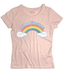 T Shirt Care Bears Ich Hasse Jeder Teddybären Des Herzens Regenbogen
