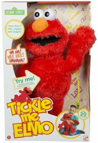 123 Sesame Street Street Street 18  Fammi il solletico Elmo Ride & Giggles per Bambini Peluche Giocattolo fe3cb1