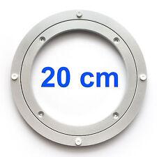 Drehkranz Ø 250 AluminiumDrehlager Drehteller Drehscheibe Lenkkranz Alu