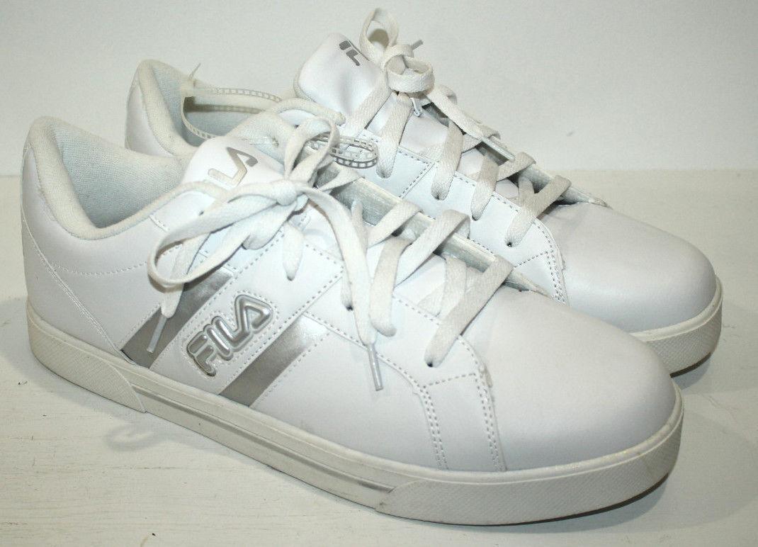 FILA  SNEAKERS SHOES FOR MEN WHITE SIZE 13 Cheap women's shoes women's shoes