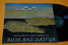 KEITH JARRETT JACK DEJOHNETTE LP RUTA AND DALYA TOP JAZZ ECM GERMANY NM ! AUDIOF