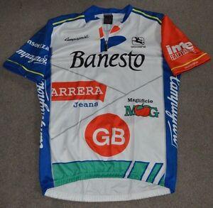 160c1ff97 Image is loading Vtg-Banesto-Cycling-Team-Giordana-Jersey-Medium-Movistar