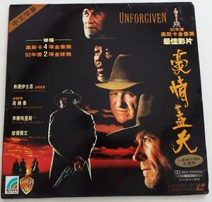 UNFORGIVEN-Clint-Eastwood-LASERDISC-CHINESE-SUBTITLES-Dolby-Surround