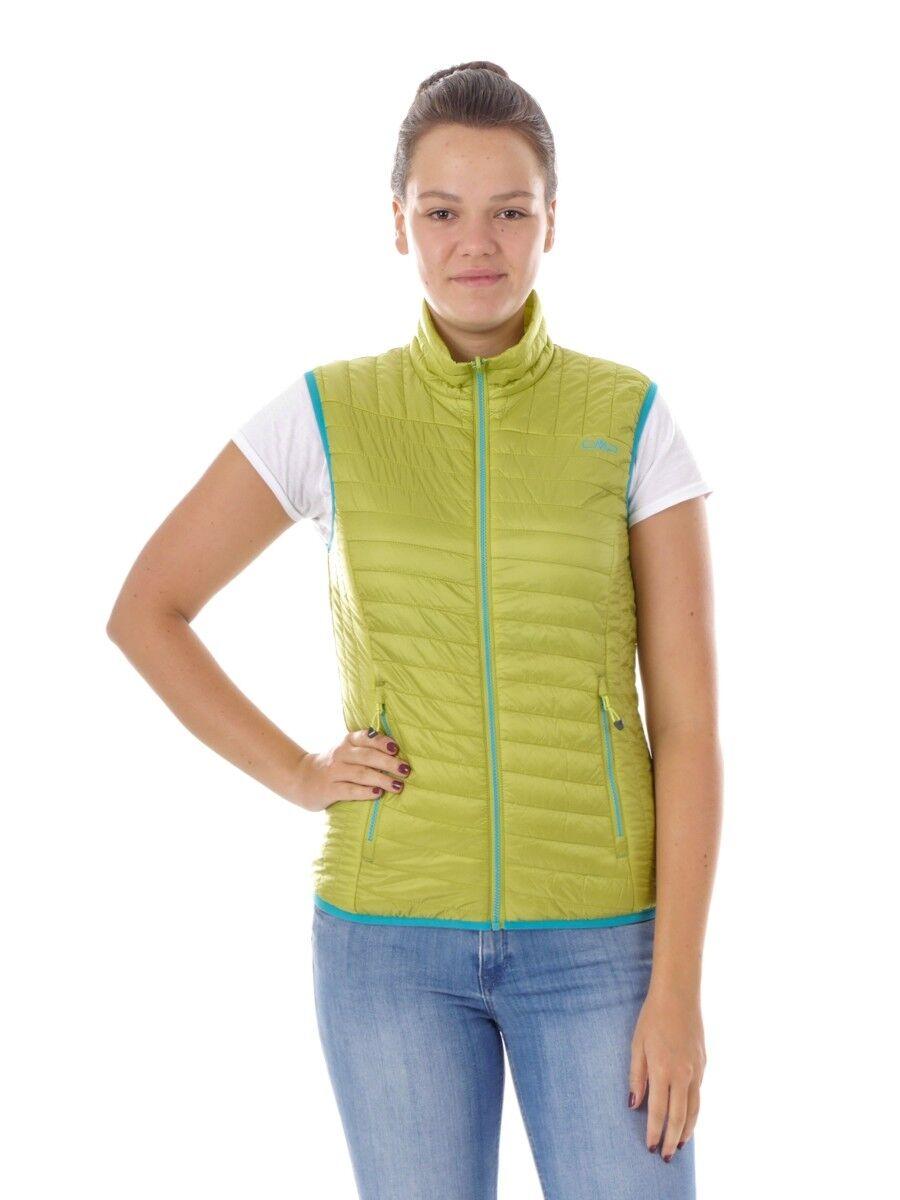 Función  CMP chaleco ACOLCHADO bodywarmer verde primaloft ® climaprojoect ®  moda clasica