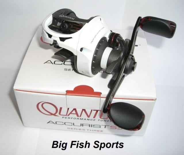 Quantum Baitcast Fishing Reel Left Hand 6.3:1 ~ New