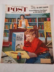 February 25 1956 The Saturday Evening Post Magazine  vintage advertisements