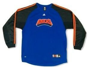 New-York-Knicks-Adidas-Long-Sleeve-Jersey-NBA-Authentic