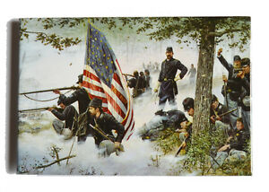 American-Civil-War-Battle-Of-Gettysburg-Dale-Gallon-Art-Magnet-Hold-At-All-Costs