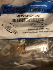 Stock Locks By Fort Lock Mfw23138 224 Keyed Alike Cam Locks 1 38 Stainless