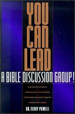 You Can Lead a Bible Discussion Group!, Powell, Dr. Terry, 0880708840, Book, Acc