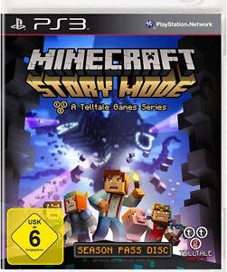 Sony PS Playstation Spiel Minecraft Story Mode - Minecraft zusammen spielen ps3