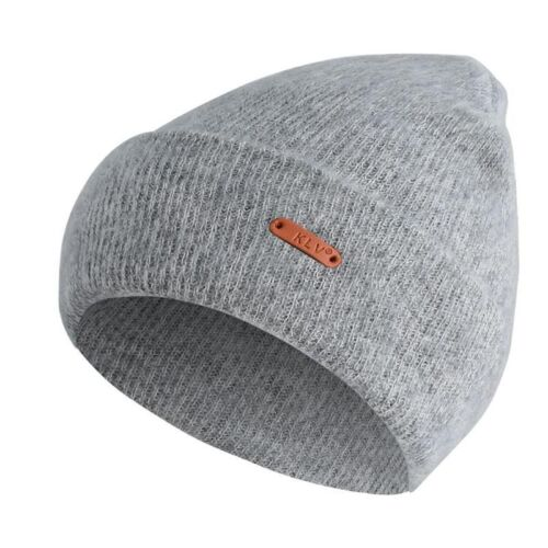 Unisex Winter Beanie Hat Cashmere Wool Fabric Casual Style Semi Elastic One Size