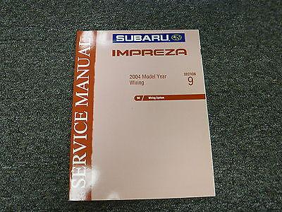2004 Subaru Impreza Electrical Wiring Diagrams Service ...