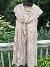 Vintage ~ Dress ~England ~Floral ~Wedding ~ 1980's ~ Liberty of London ~Romantic