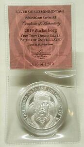 1oz-Silver-Shield-Zuckerborg-BU-Silver-Round-FaceBook-Coin-3-InfoIndCom-Series