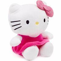 Hello Kitty Plush Figural Piggy Bank Coin Sanrio