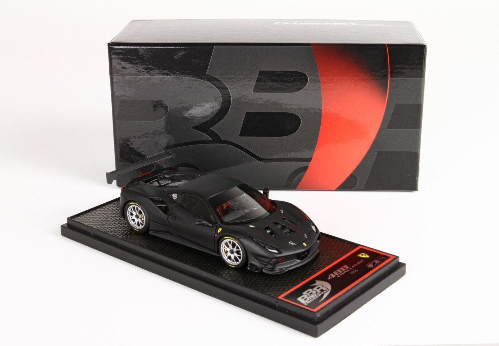 Ferrari 488 Challenge 2016 noir opaco 1 43 BBRC197D