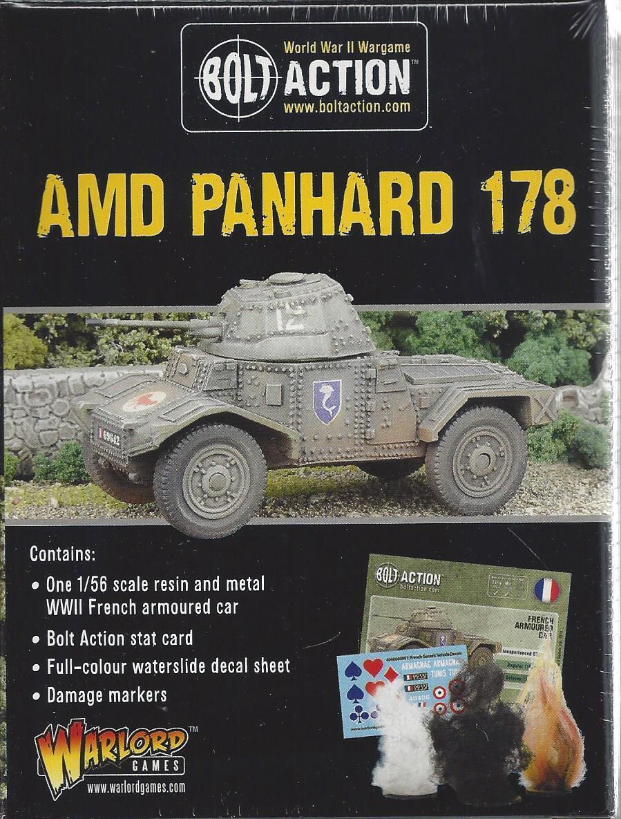 BOLT ACTION 28mm; Panhard Armoured Car